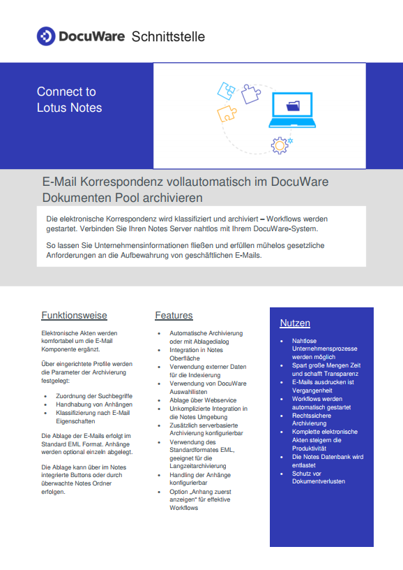 lotus notes vorschau
